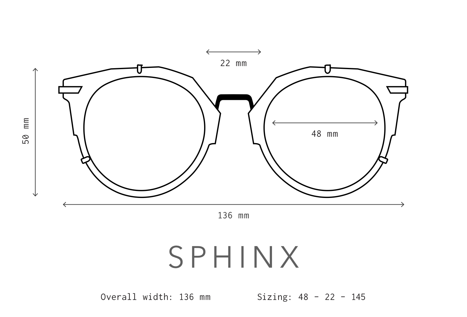 Sphinx Sunglasses Fit Information