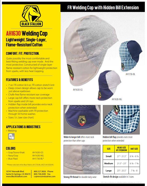 REVCO Welding Cap