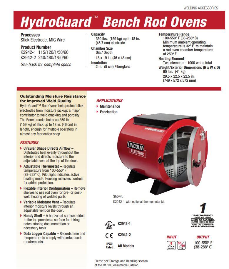Hydro Guard Rod Oven