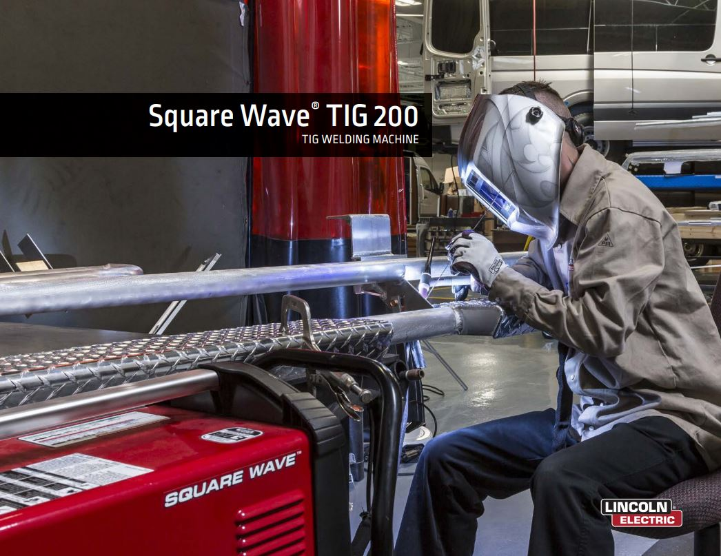 Square Wave TIG 200 Spec Sheet
