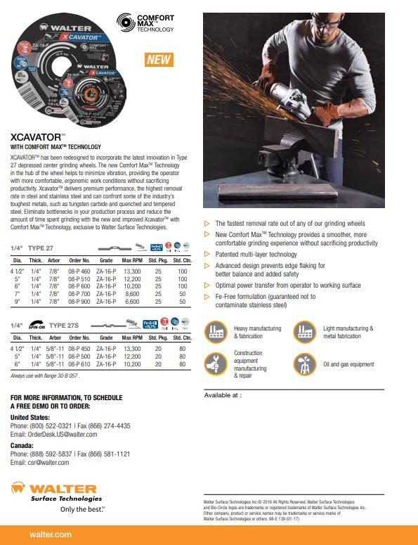 Xcavator Product Sheet