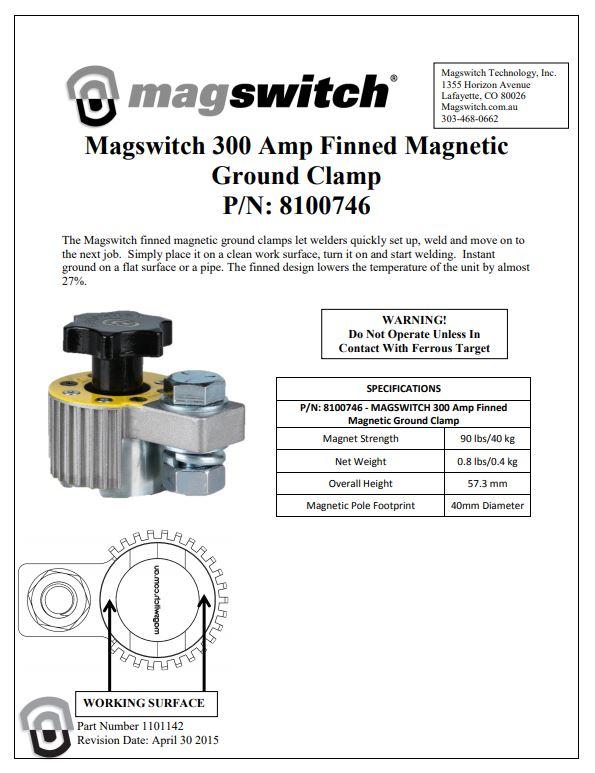 300 Amp Ground Clamp