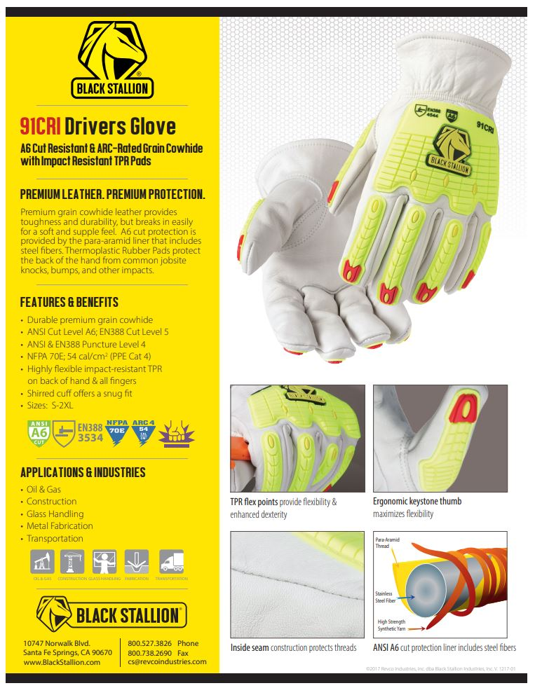 91CR Drivers Gloves