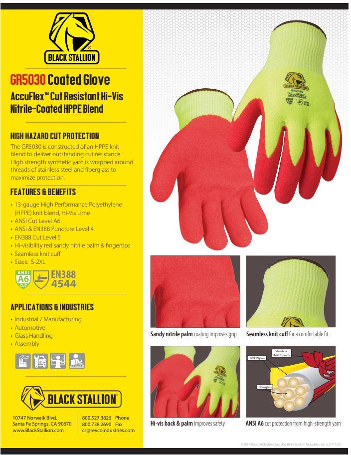 GR5030 Revco Coated Gloves