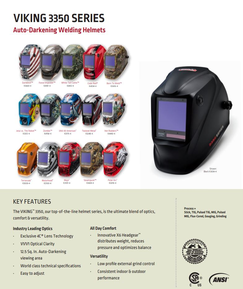Viking 3350 Welding Helmet