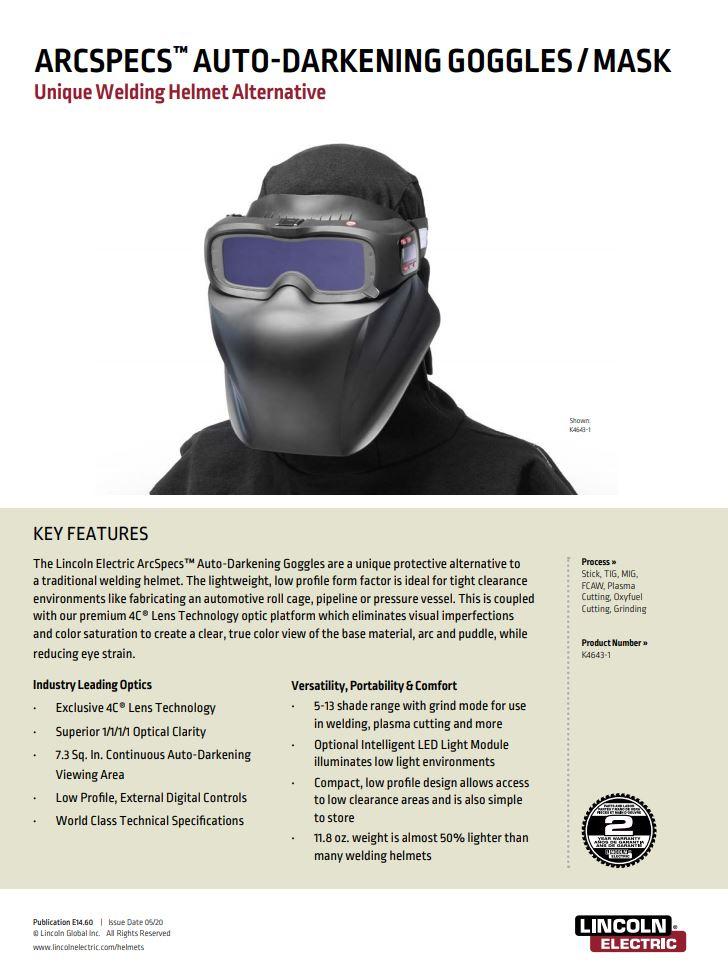 Arc Specs Mask