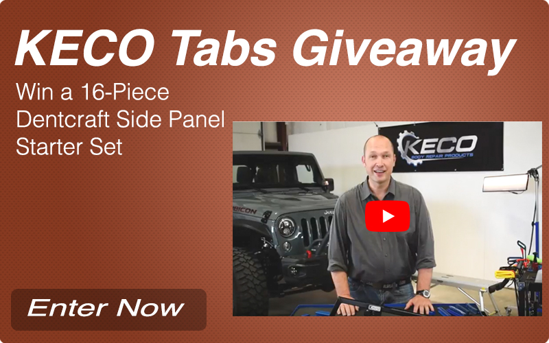 KECO Tabs Giveaway - Win a 16 Piece Dentcraft Side Panel Starter Set