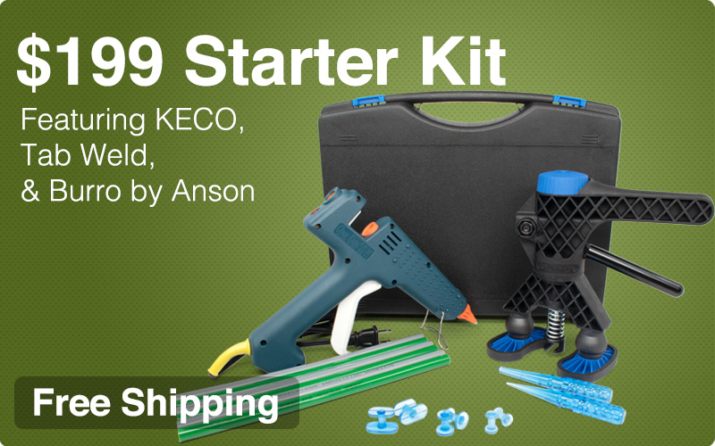 $199 Starter Hail Kit - Featuring KECO, Tab Weld & Burro by Anson