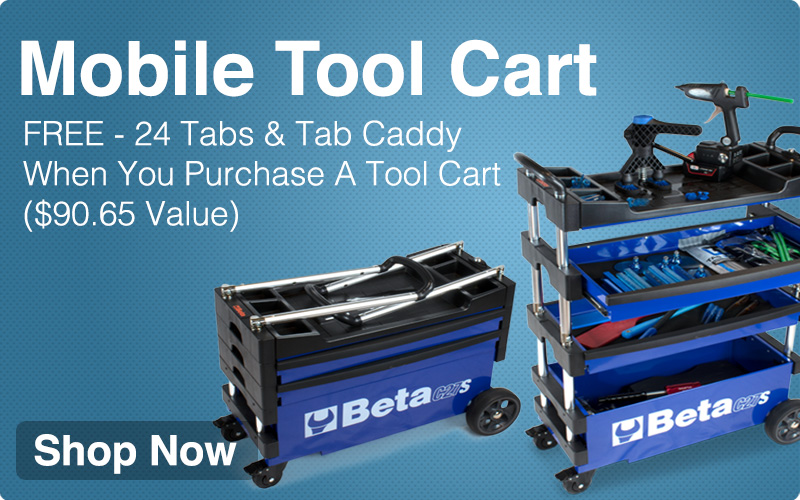 Mobile Tool Cart - It really is that easy