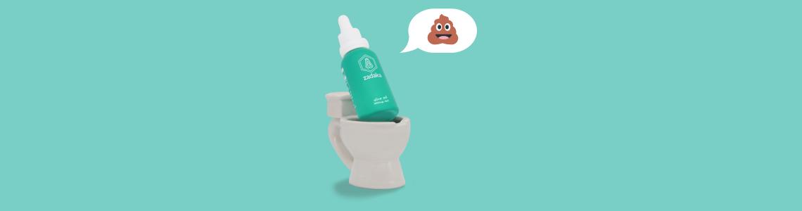 does cbd make you poop?