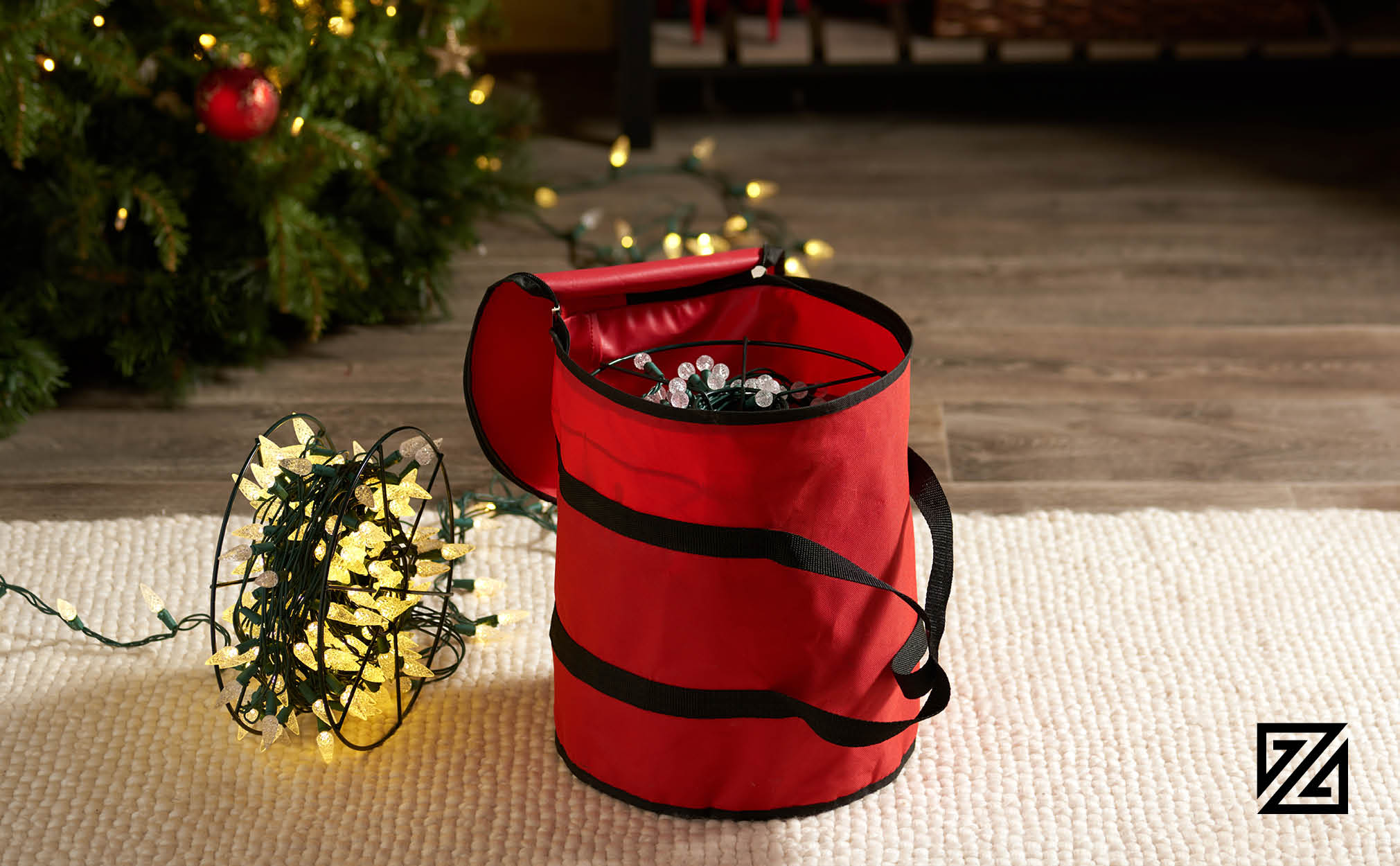 Premium Christmas Light Storage Bag,