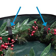 Wreath-Securing Velcro Straps