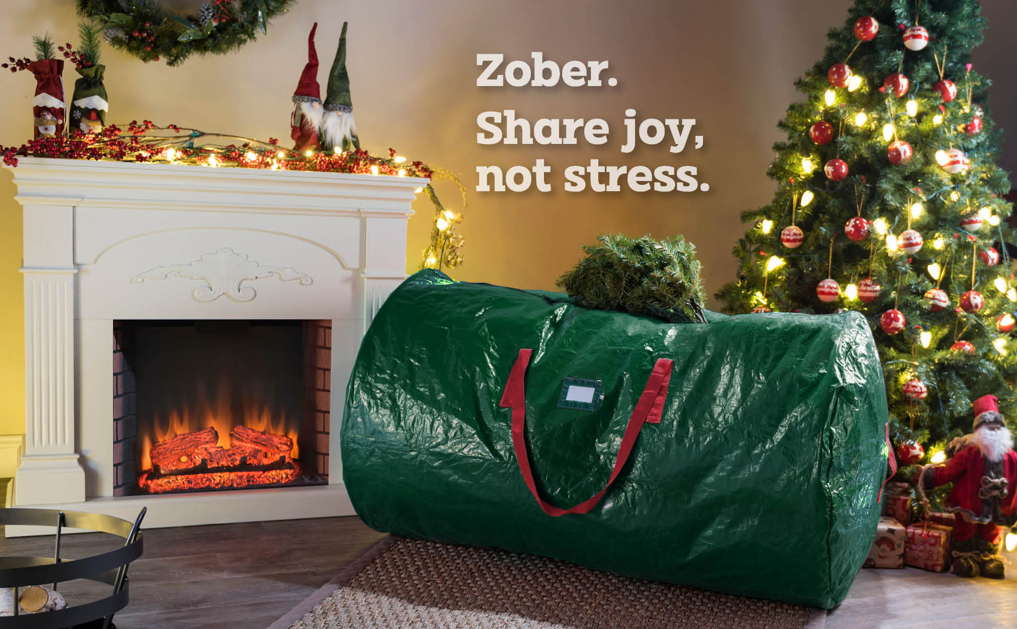 9 Ft Premium extra Large Christmas Tree Storage Bag, (Green)