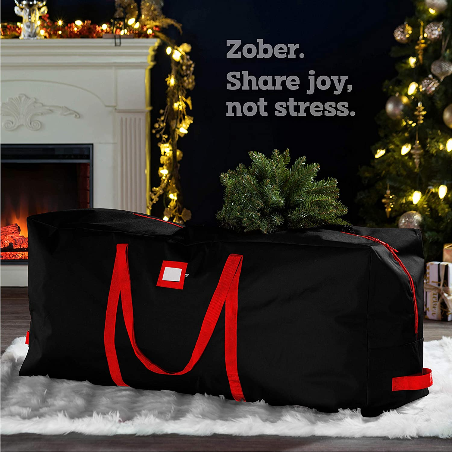 Artificial Christmas Tree Storage Bag for 7.5 ft Tree, 20