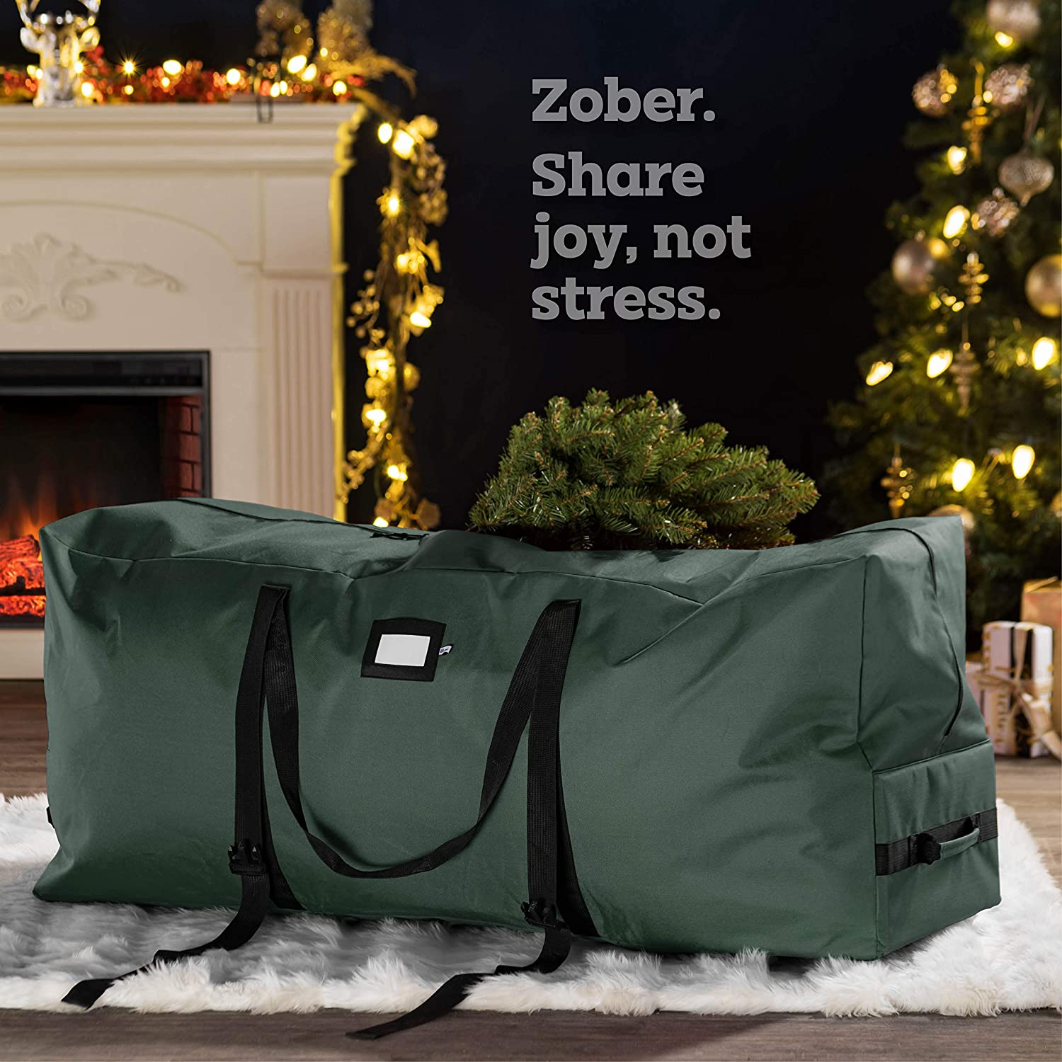 Rolling Artificial Tree Storage Bag for 7.5 ft Tree, 20