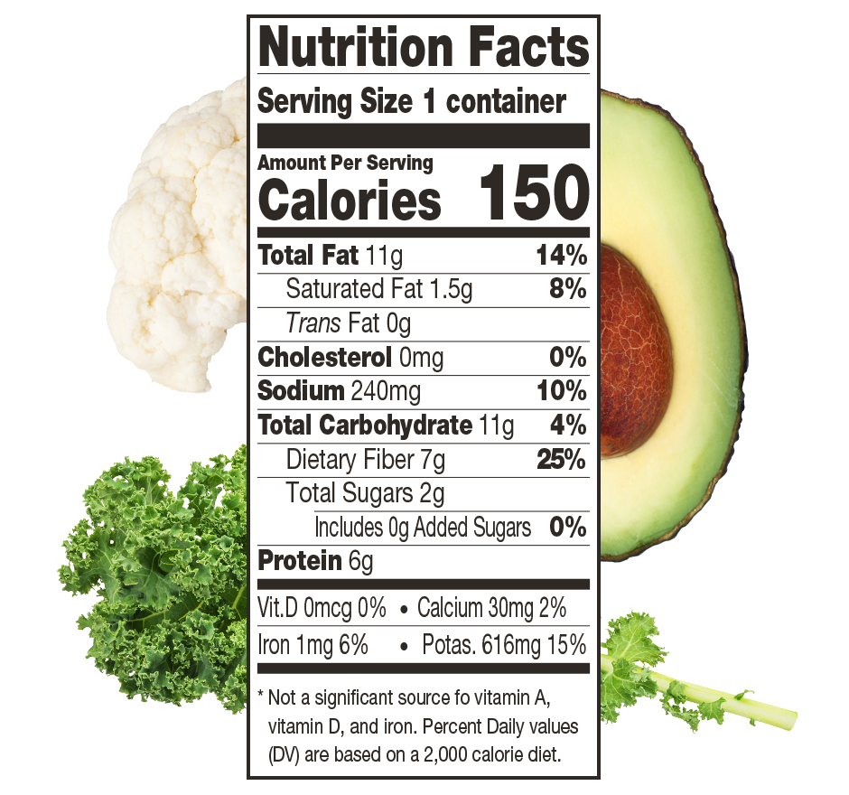 Avocado Greens with Collagen